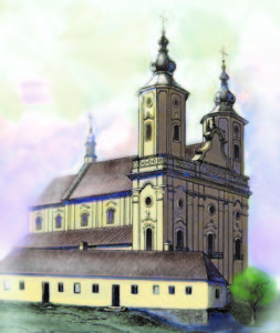 XIV. Історія і відбудова Тиврівського монастиря і костьолу