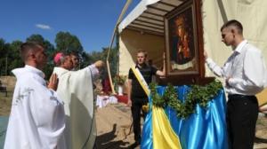 Встановлення Санктуарію Матері Божої Тиврівської та мученників за віру в Україні