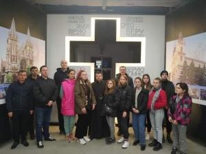 Молодь з Первомайська відвідала наш Меморіал мученників за віру